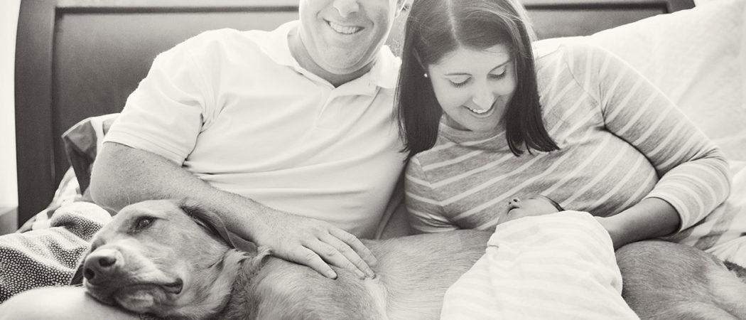 The L Family : Orlando Lifestyle Newborn Session Photographer