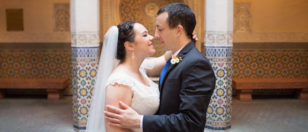 Rebecca + Brian : Summer Epcot Wedding in Morocco!