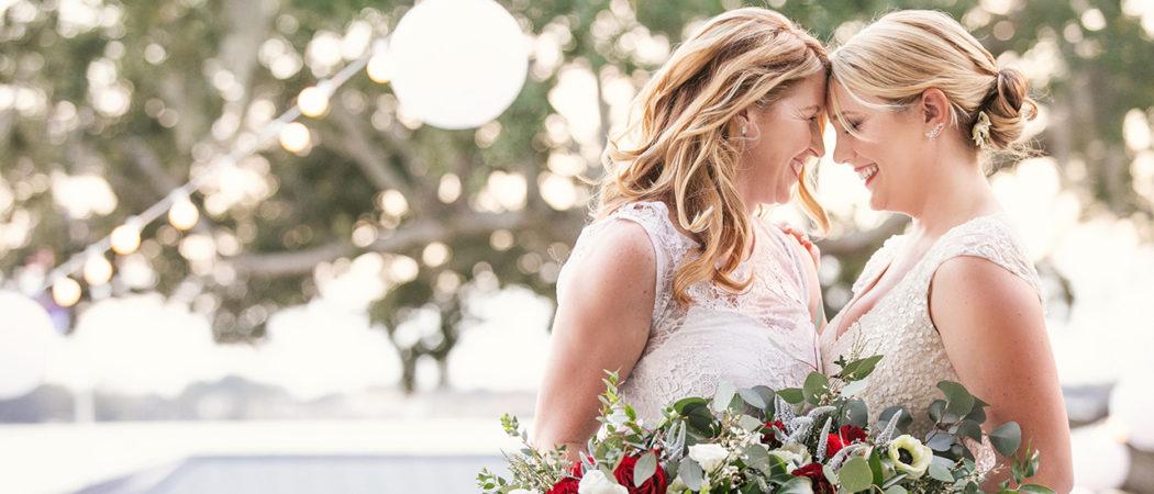 Lauren + LA : New Year's Eve Backyard Wedding in Orlando, FL