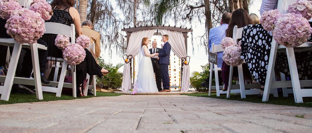 Kristina + Joe : Paradise Cove Old-Florida Wedding in Orlando, Florida