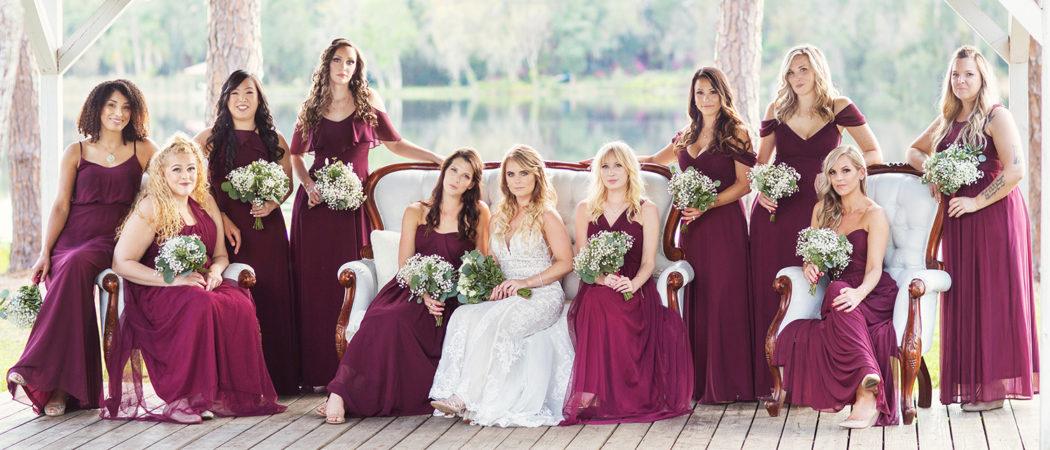 Lindsay + Dave : The Barn at Crescent Lake Wedding in Odessa, Florida